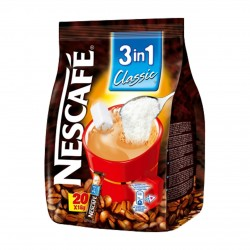 Nescafé 3v1 (káva, mléko, cukr)
