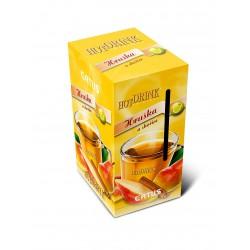 Hot Drink Hruška - skořice , balení 30 sáčků 23 g