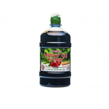 Sirup Crystalis Ledový čaj & jahody 1 litr